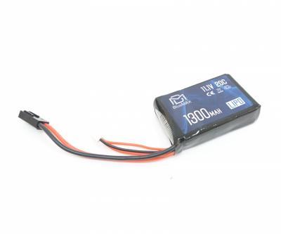 Аккумулятор BlueMAX Li-Po 11.1V 1300mah 20C, 65x43x17 мм (стик) для PEQ/AN-15
