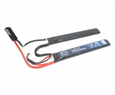 Аккумулятор BlueMAX Li-Po 7.4V 1450mah 30C, 2 x (115x17x7,5) мм (нунчаки)