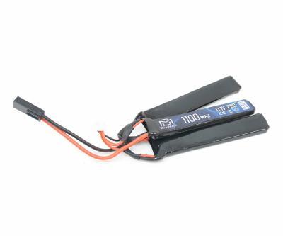 Аккумулятор BlueMAX Li-Po 11.1V 1100mah 20C, 3 x (102x21x5) мм (триплет)