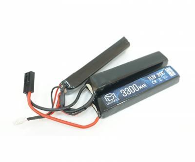 Аккумулятор BlueMAX Li-Po 11.1V 3300mah 20C, 3 x (128x21x19) мм (триплет)