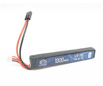 Аккумулятор BlueMAX Li-Po 11.1V 1300mah 20C, 134x20,6x18 мм (стик)