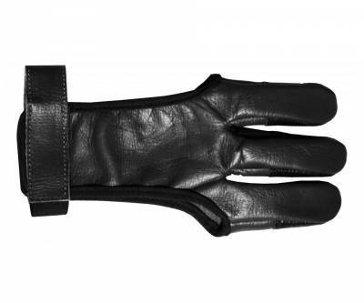 Напальчник традиционный черный (кожа)