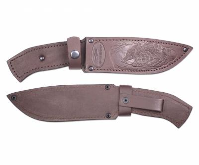 Чехол кожаный для нескладного ножа №12(к)