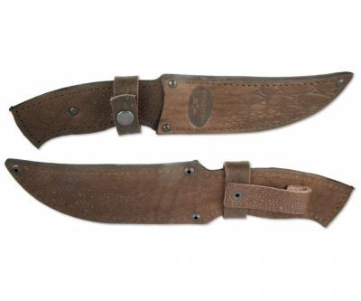 Чехол кожаный для нескладного ножа №2з