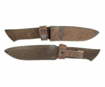 Чехол кожаный для нескладного ножа №4с(к)