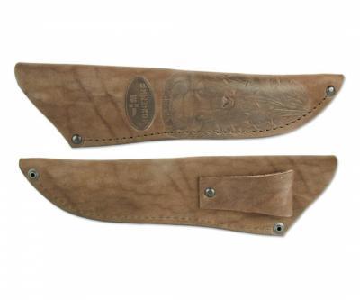 Чехол кожаный для нескладного ножа №5