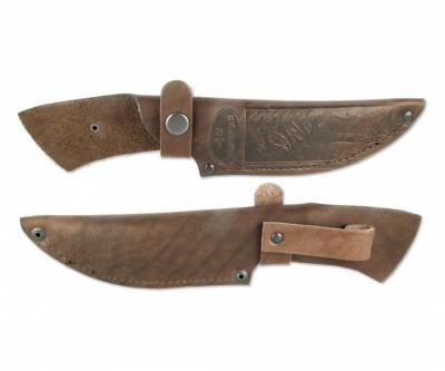 Чехол кожаный для нескладного ножа №9(к)