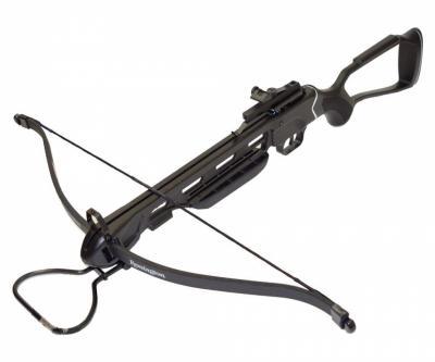 Арбалет рекурсивный Man Kung MK-150 A2R (рамочный, черный)