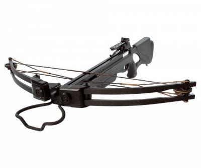 Арбалет блочный Man Kung MK-300 BK (черный, PKG)