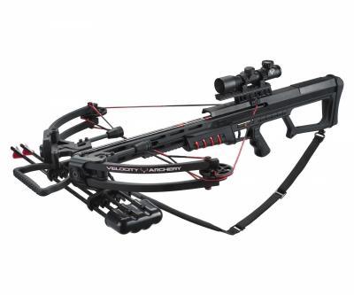 Арбалет блочный Man Kung MK-400 BK (черный, PKG)