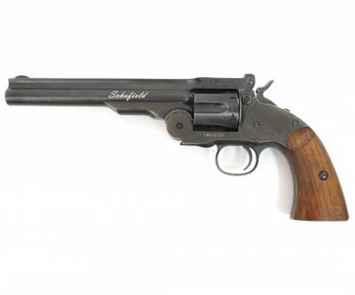 Пневматический револьвер ASG Schofield 6