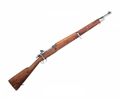 Страйкбольная винтовка G&G GM1903 A3 Silver (Springfield M1903) GGS-193-CO2-SNB-NCM
