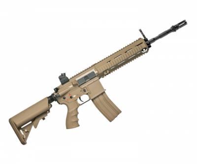 Страйкбольный автомат G&G TR4-18 Long Desert (HK416) TGR-418-LNG-DBB-NCM