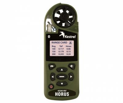 Портативная метеостанция (анемометр) Kestrel 4500NV w/Bluetooth Horus ATrag Ballistics