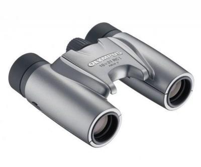 Бинокль Olympus 10x21 RCI silver