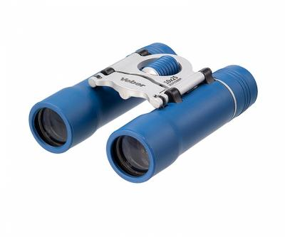 Бинокль Veber Sport new БН 10x25 синий, серебристый