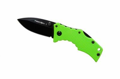 Нож складной Cold Steel Micro Recon 1 Spear Point 27TDSG (зеленая рукоять)
