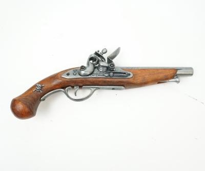 Макет пистолет кремневый пиратский (Франция, XVIII век) DE-1012