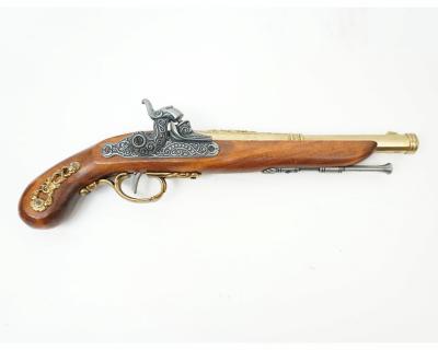 Макет пистолет кремневый, латунь (Франция, 1872 г.) DE-1014-L