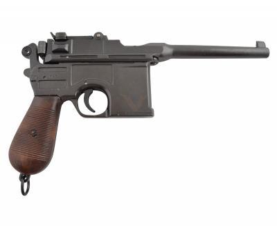 Макет пистолет Маузер, пластиковая рукоятка (Германия) DE-1024
