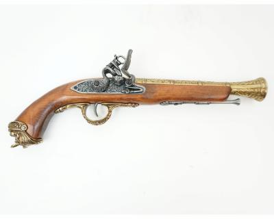 Макет пиратский пистолет, латунь (Италия, XVIII век) DE-1031-L