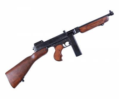 Макет автомат Томпсона M1A1 (США, 1928 г., 2-я Мир.война) DE-1093