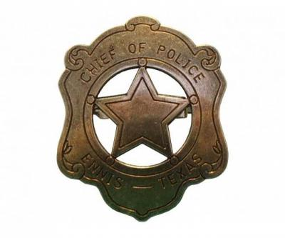 Значок шефа полиции (США) DE-110