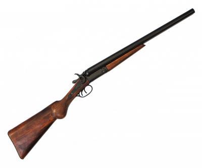 Макет ружье двуствольное Уайта Эрпа (США, 1868 г.) DE-1115