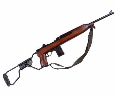 Макет карабин M1A1, с ремнем, склад. приклад (США, 1941 г., 2-я Мир.война) DE-1131-C