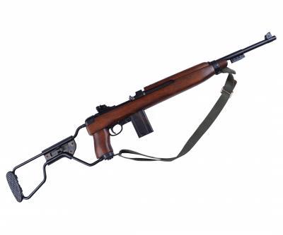 Макет карабин M1A1, с ремнем, склад. приклад (США, 1944 г., 2-я Мир.война) DE-1132-C