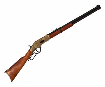 Макет винтовка Винчестер, латунь (США, 1866 г.) DE-1140-L
