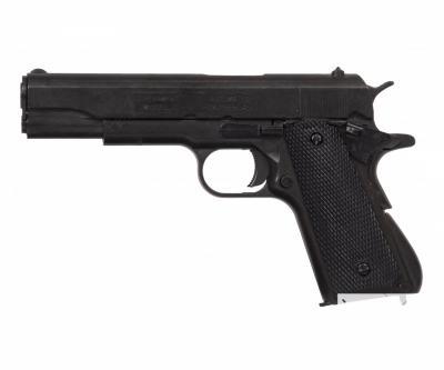 Макет пистолет Colt M1911A1, .45 калибра, пластик. рукоять (США, 1911 г.) DE-1312