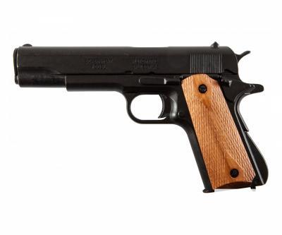 Макет пистолет Colt M1911A1, .45 калибра, светлое дерево (США, 1911 г.) DE-8316