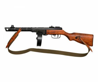 Макет пистолет-пулемет Шпагина ППШ-41, с ремнем (СССР, 1941 г., 2-я Мир.война) DE-9301