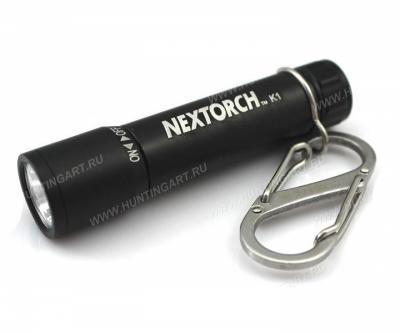 Фонарь-брелок NexTORCH К1, 40 люмен (K1 Black)