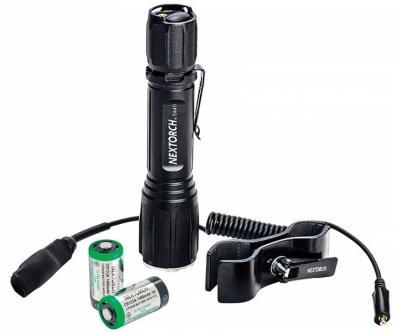 Комплект - фонарь тактический NexTORCH TA40 светодиод (TA40 RECHARGEABLE SET)