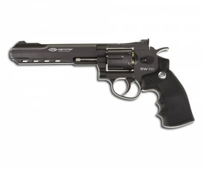 Пневматический револьвер Gletcher SW B6 (6