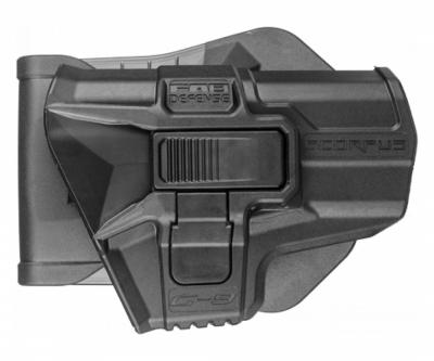 Кобура поворотная с кнопкой Fab Defense MX G-9SR для Glock 9 мм (черная)