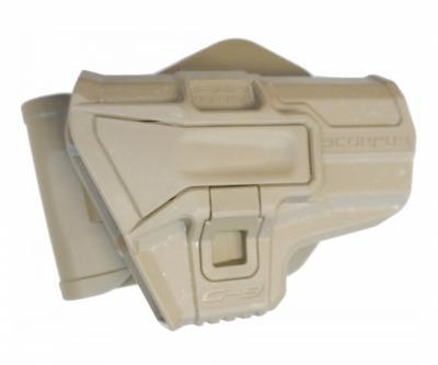 Кобура поворотная Fab Defense M1 G-9S для Glock 9 мм (койот)