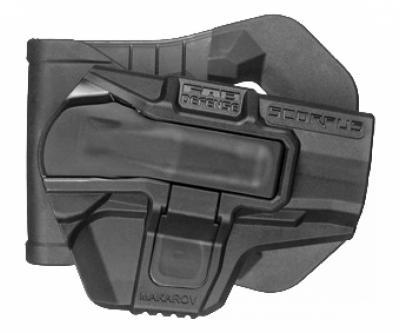Кобура с кнопкой Fab Defense M1 Makarov S для ПМ (черная)