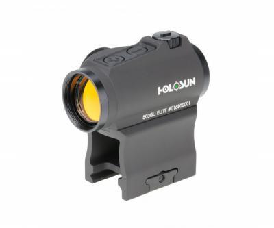 Коллиматорный прицел Holosun Micro Elite HE503GU-GR, Weaver/Picatinny