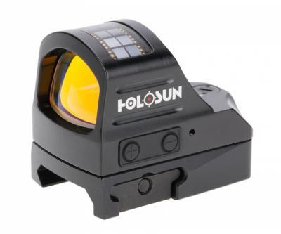 Коллиматорный прицел Holosun Open Elite HE507C-GR, Weaver/Picatinny