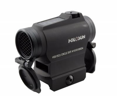 Коллиматорный прицел Holosun Micro HS515CU на Weaver/Picatinny