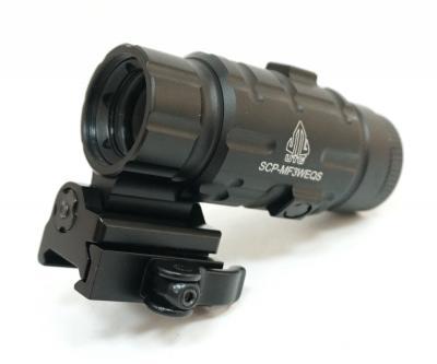 Увеличитель для коллиматора UTG Leapers 3X с быстросъемным откидным кроншт. (SCP-MF3WEQS)