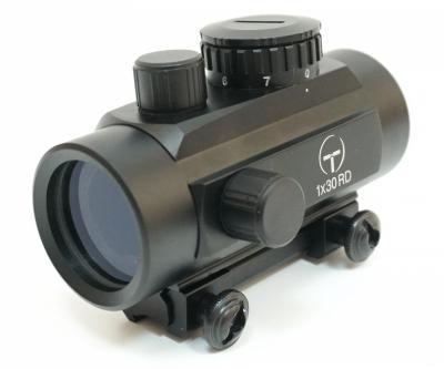 Коллиматорный прицел Target Optic 1x30, закрытый, на призму 11 мм, красная точка
