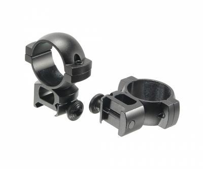 Кольца для прицела Veber 3021 H с окошком 8 мм