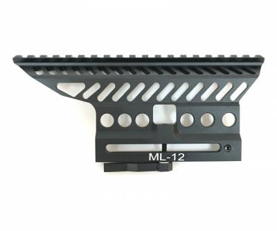 Планка Weaver на боковой кронштейн быстросъемная В-13 для АК, Вепрь, Сайга, Тигр, СКС (BH-MR53)