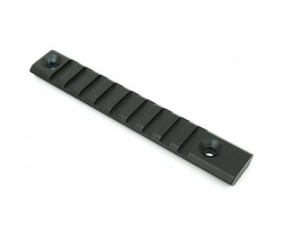 Планка Picatinny 125 мм, между отвер. 100 мм (BH-R04)