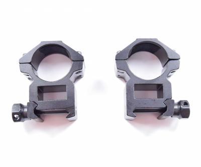 Кольца 25,4 мм быстросъемные на Weaver, низкие (BH-RS25)