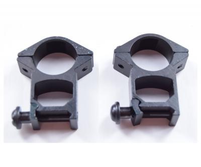 Кольца 25,4 мм быстросъемные на Weaver, высокие, узкие (BH-RS27)